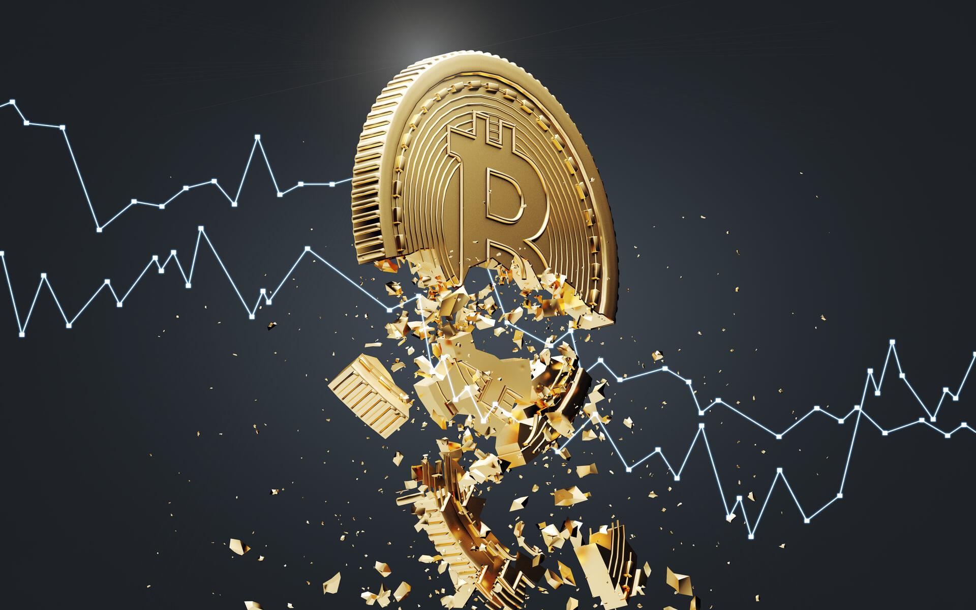 bitcoin dropping